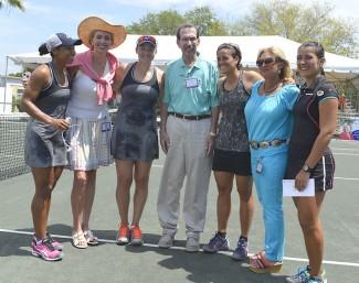 Lidinsky's house double winners @ Oaks Tennis Tournament