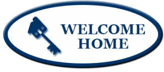 Welcome Home Button